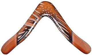Aussie Fever Wooden Boomerang - Aboriginal Artwork, Made in Australia!