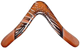 Aussie Fever Wooden Boomerang - Aboriginal Artwork,  Made in Australia!
