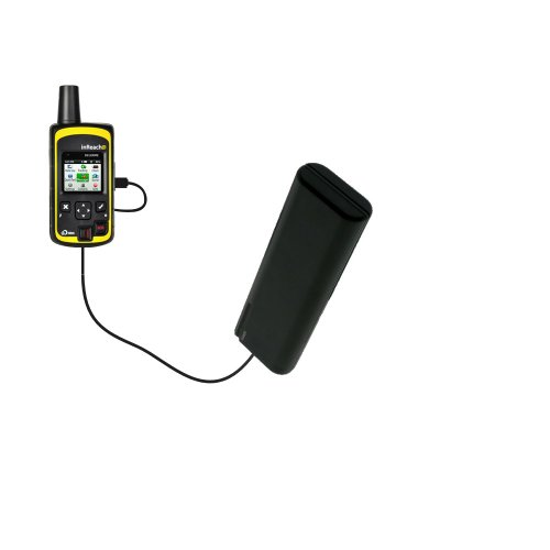 Portable Emergency AA Battery Charger Extender Suitable for The Delorme inReach SE - with Gomadic Brand TipExchange Technology