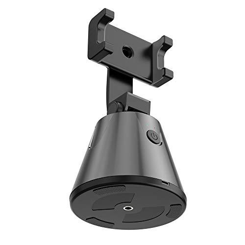 YTGH Estabilizador Bluetooth Selfie Stick cardán Rotación 360 Grados Hogar Auto Rastreo Cara Escritorio Inteligente Para Smartphones Manos Libres