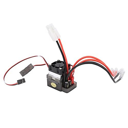 Bnineteenteam ESC, 7,2‑16 V 320 A Cepillo bidireccional de Alto Voltaje ESC con Cabezal 2 en 1 para con Ventilador 35 x 47 x 42 mm / 1,4 x 1,9 x 1,7 Pulgadas