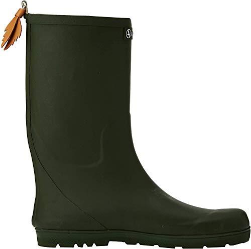 Aigle - Woody Pop - Botte de pluie - Mixte enfant - Vert (Kaki) - 34 EU