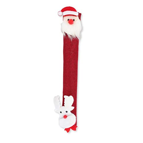 unknow Growrak - Manijas para puerta de frigorífico, diseño de muñeco de nieve