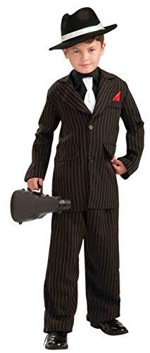 Forum Novelties Littlest Gangster Child Costume, Large