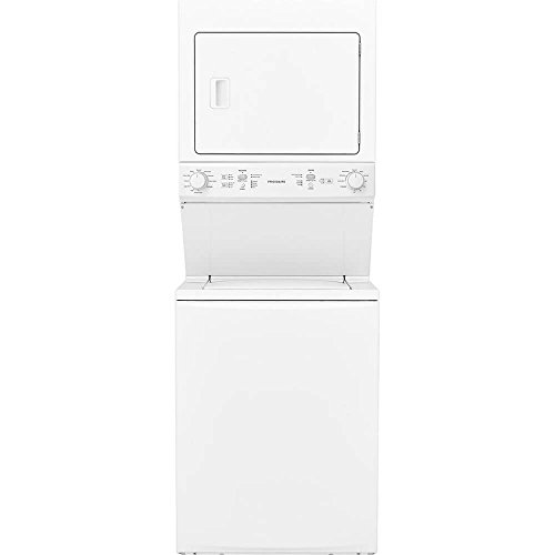 Frigidaire FFLE3900UW 27 Inch Electric Laundry Center with 3.9 cu. ft. Washer Capacity in White