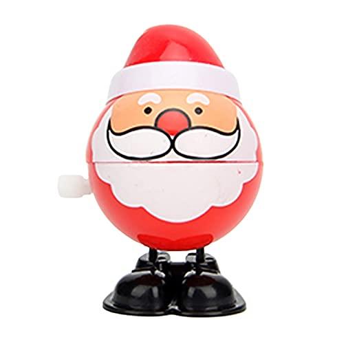 FINIVE Wind-up Toys - Juguetes de cuerda para decoración navideña, multiusos resistente al desgaste, 6