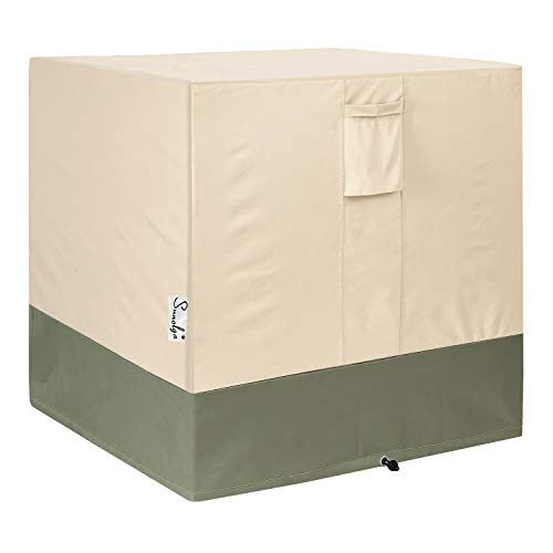 Sunolga Air Conditioner Cover for Outside Units,Water Resistant and Weatherproof Design - AC Covers Fits up to 24 x 24 x 30 inches
