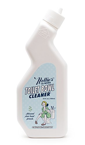 Nellie's Toilet Bowl Cleaner - Lemongrass scent, Natural Cleaning Power, Plant Based Formula