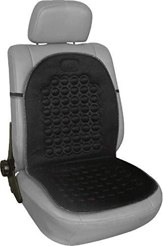 simplement Bmc001 Automotive Aimant Bubble Coussin Noir, une prise en charge à rouler Dos, effet de massage, SE fixe facilement sur les chaises et les sièges de voiture avec sangle élastique, poids léger, ajustement universel