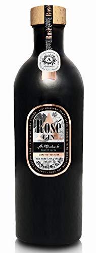 Achternbusch Gin Rosé | Red Wine Cask Finish (Zweigelt) | 70cl | 49,9% Vol. | fassgelagerter Gin | Feel! Gin