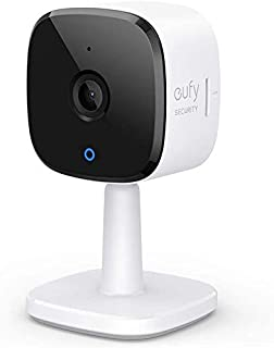 كاميرا أمان داخلية 2 كيه من يوفي سيكيوريتي - كاميرا الأمان المنزلي - منزل - AI- تعمل مع مساعد الصوت - الرؤية الليلية - الص...
