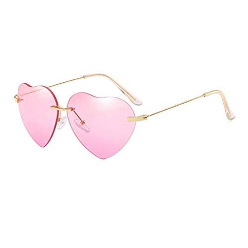 FRAUIT Nuovi Occhiali Da Sole A Forma Di Cuore Occhiali Da Vista Metallo Con Lenti Occhiali Da Sole Donna Polarizzati Ultra Leggero