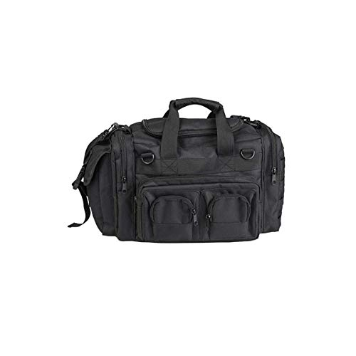 Mil-Tec K-10 - Bolsa de deporte (35 x 25 x 20 cm), color negro
