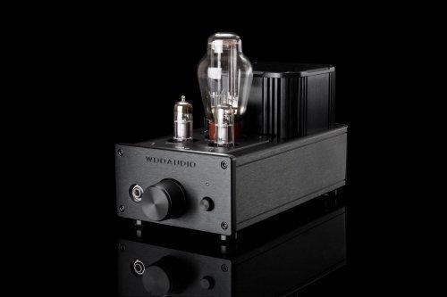Woo Audio WA6 2nd gen Vacuum Tube Class-A Headphones Amplifier (Black)