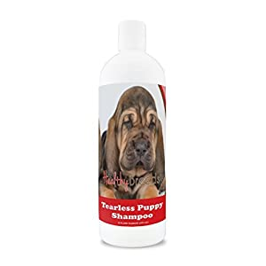 Healthy Breeds Tear Free Puppy Dog Shampoo for Bloodhound – OVER 100 BREEDS – Nourishes & Moisturizes for Growth – Safe with Flea and Tick Topicals – 16 oz