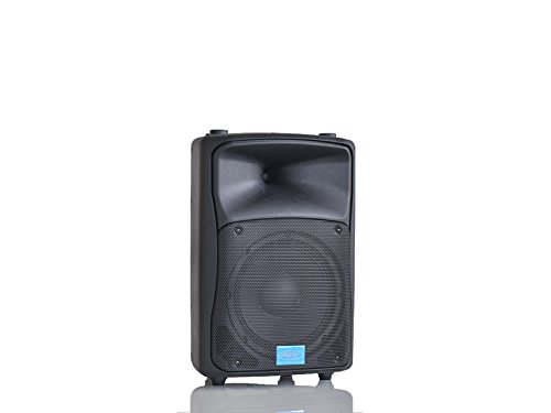 "MPE AUDIO cassa attiva bi amplificata 400 watt musicali 8"" 20 cm MADE IN ITALY acustica diffusore piano bar dj karaoke discoteca PA mod: DJ-8AL"