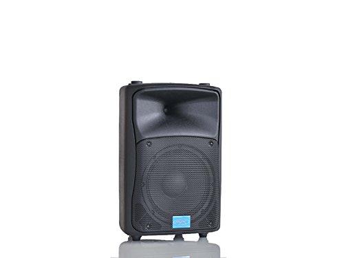 MPE AUDIO cassa attiva bi amplificata 400 watt musicali 8' 20 cm MADE IN ITALY acustica diffusore piano bar dj karaoke discoteca PA mod: DJ-8AL