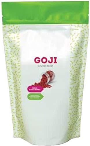 1Kg de baies de Goji séchées - Végétalien - SANS ADDITIONS - Qualité premium - Superfood - Idéal - Naturellement riche en vitamines + minéraux et acides aminés