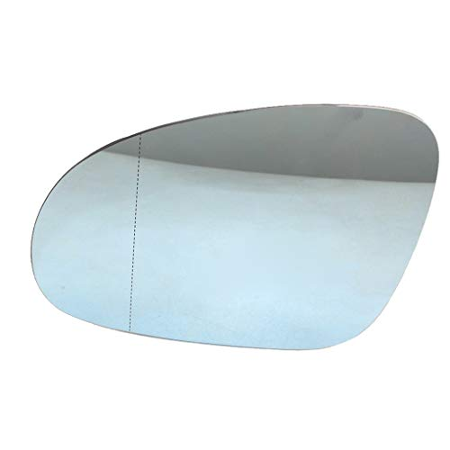 Lado Izquierdo Exterior climatizada reemplazo del Espejo retrovisor Calefacción Espejo retrovisor de Cristal para Golf 5 MK5 2005-2009 3C0857521