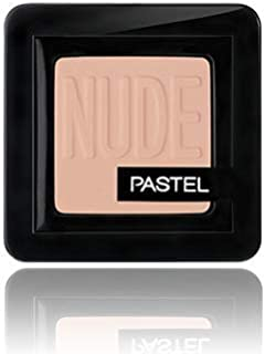Pastel Nude Single Eyeshadow, 72-Vanilla, 008 Golden Beige