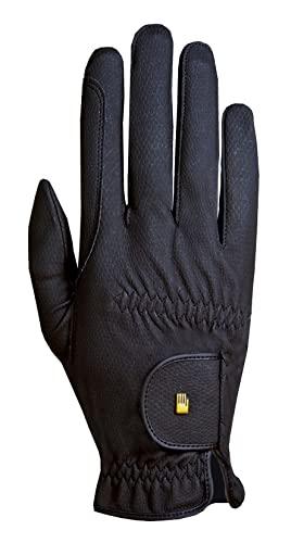 Roeckl Roeck Grip Handschuh, Unisex, Reithandschuh, Schwarz, Größe 10