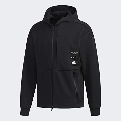 adidas Herren M ID Sweat HD Sweatshirt, Black, S