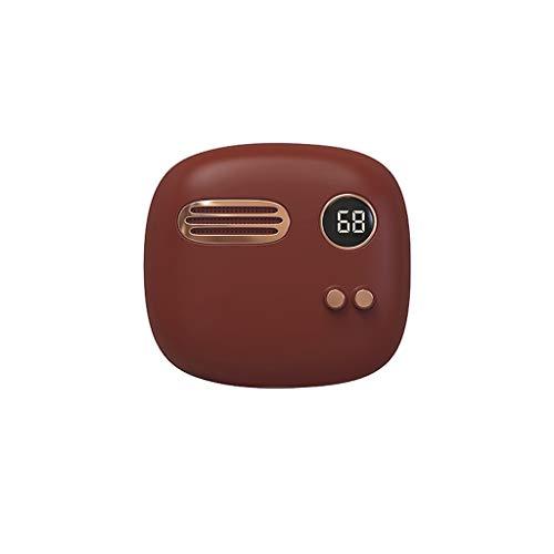 YHWLKK Oplaadbare draagbare handheld met USB Power Bank 6000 mAh, dubbelzijdige verwarming, cadeau voor Valentijnsdag, Kerstmis