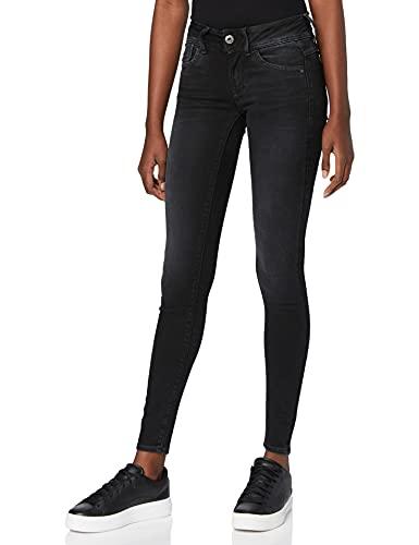 G-STAR RAW Damen Jeans Lynn Mid Waist Super Skinny, Grau, 27W/32L