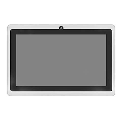 Tableta Android 4.4, Tableta Quad Core De 7 Pulgadas con 512mb Ram ROM De 8gb, Cámaras Duales, Ranuras para Tarjetas Sim, WiFi 5g, Bluetooth, GPS, Pantalla De Cristal HD, 4g LTE,Blanco