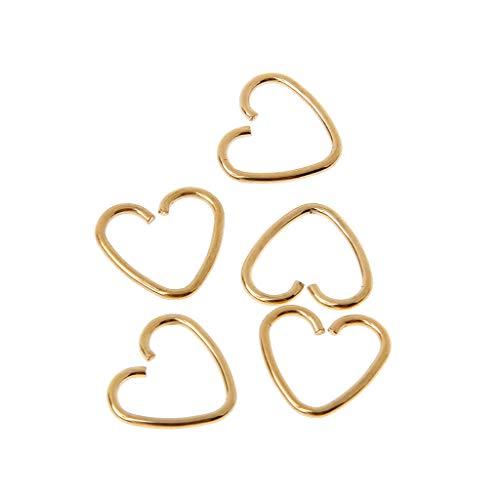 niumanery hart gevormde nep tragus piercing hoepel helix kartilage tragus daith stud oorbel zilver