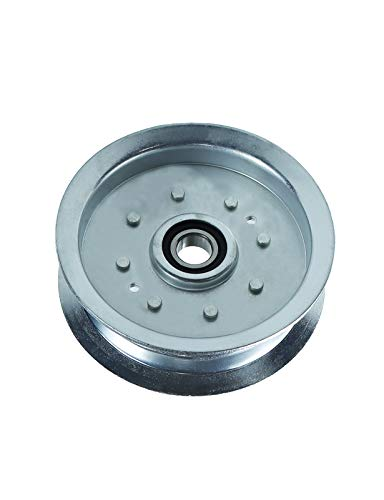 POSEAGLE GY20629 Flat Idler Pulley for John Deere 100 Series Lawn Mowers Replaces # GY20629,GY22082,GY20110,Oregon 34-109,Stens 280-242 (1 Pack)