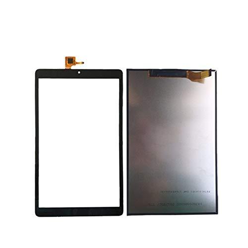 Displayersatz 10.1 '' Fit für Alcatel OneTouch Pixi 3 (10) 3G 8080 8079 Capacitive Touch Screen Panel LCD-Bildschirm Digitizer Glass TXDT1010UXPA Ersatzsatz für Reparatursatz ( Color : Black Touch )