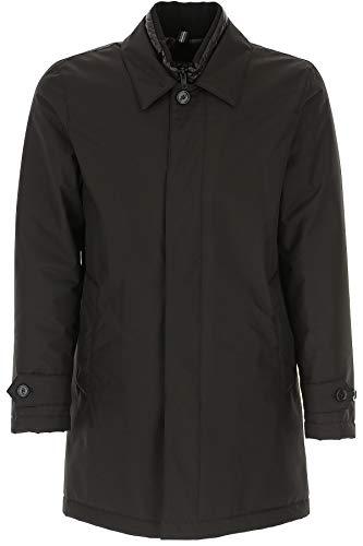 Fay Luxury Fashion Herren NAM61390670QKJB999 Schwarz Polyester Jacke | Jahreszeit Permanent