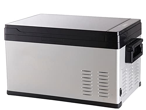 Mini Nevera De 30 litros 12/24 V, Refrigerador De Coche, Nevera Portátil para Acampar, Congelador, Camión, Caja De Refrigeración Eléctrica para Viaje En Barco, Picnic,