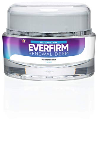 Everfirm - Renewal Derm - Anti Aging Night Time Moisturizer - Treat your skin while you sleep to help repair years of damage in a fraction of the time. Powerful actives to treat and repair your skin