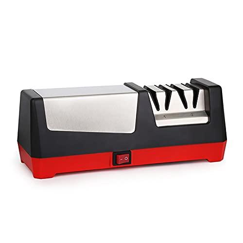 Afilador De Cuchillo Sacapuntas De Cuchillos Automáticos Eléctricos Cuchillo De Cerámica Cocina De Cocina Sacapado De Cuchillos Adecuado Para Uso Doméstico ( Color : Black , Size : 23.2x9.5x88.7cm )