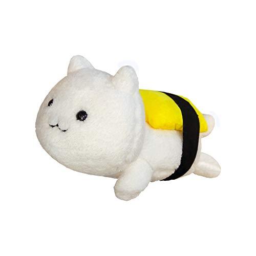 N / A 1 piece of creative sushi cat plush toy stuffed soft cartoon cute animal doll soft pillow seat cushion Christmas birthday gift 45cm