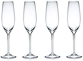 Crystalware Crystal Crystal Glass - 4 Pieces, Clear, 165 ml