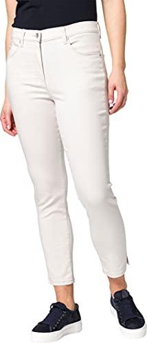 Raphaela by Brax Lesley S Jeans Skinny, Beige (Cream 60), 44 (Taglia Produttore: 38K) Donna
