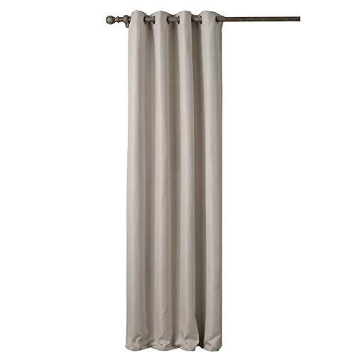 SimidunEUR Semi-Blickdichte Gardinen Verdunkelungsvorhang - Lichtundurchlässige Vorhang mit Ösen für Schlafzimmer Geräuschreduzierung,Farbe 6,140 * 160 cm