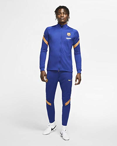 Nike Survetement FC Barcelone Bleu Adulte 2020/21