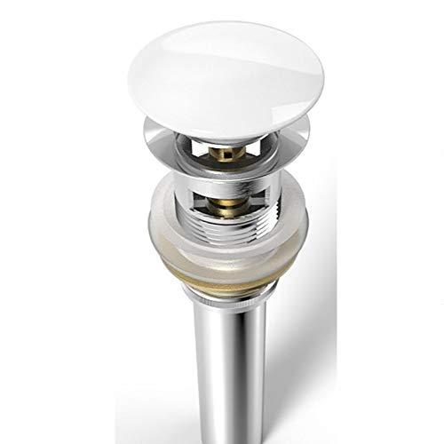 Push Open AA52 mit Überlauf-Funktion edel verchromt mit Keramik-Deckel und Rohrverlängerung