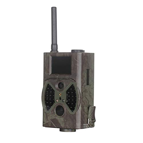 MC.PIG Wildlife Camera Trail Camera -12Mp 1080P Game Camera with Night Vision Motion Activated Ip54 Waterproof Night Vision Camera for Outdoor and Home Security Surveillance