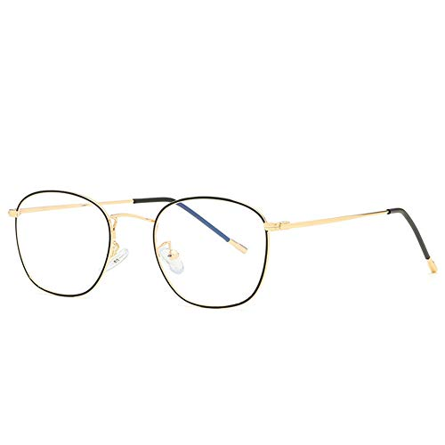 RUIXFPU - Gafas de acetato con bloqueo de luz azul, antirreflectante, bloqueo de fatiga, dolor de cabeza, fatiga ocular, gafas de seguridad para ordenador ligero, 1