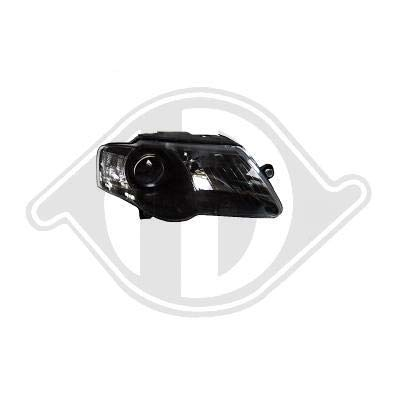 2247983, Feux Phare gauche Design noir pour Passat berline, Break de type 3C de 2005 a 2010