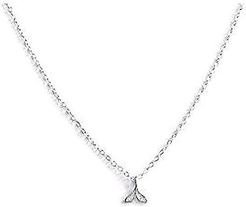 ZGYFJCH Co.,ltd Collar Collar de Cadena de Cadena de Cola Linda Collar