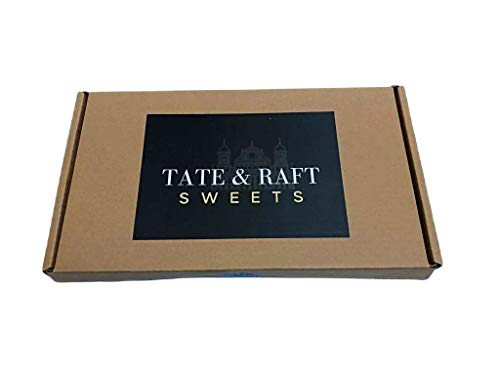 Retro Selection Sweet Gift Box : Sweets Hamper - Box of 16 Sweets Selection - Tate and Raft