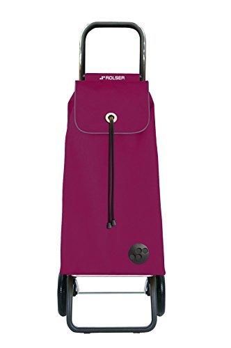 ROLSER Imax MF Convert RG Shopping Trolley, One Size, Burgundy by Rolser