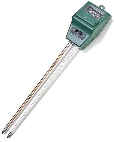 XXT 3 en 1 Métrico de pH del Suelo Métrico de Maceta Higrómetro Probador de Suelo Plantas Crecimiento Crecimiento de Humedad Intensidad de la Humedad Medidor de Instrumentos Herramientas de jardín