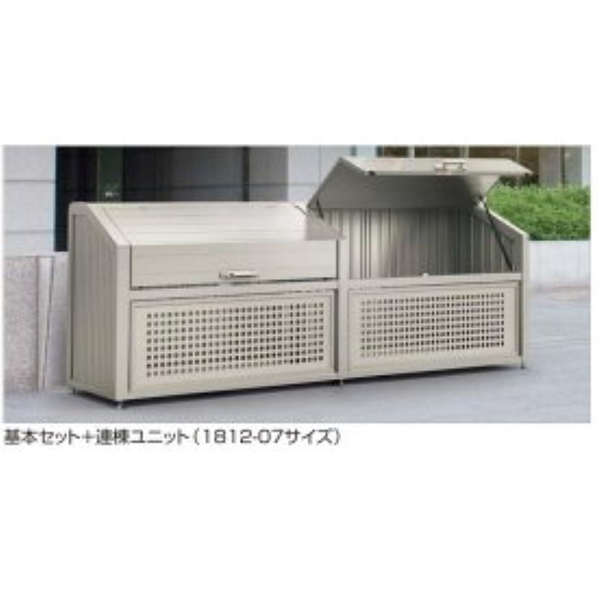 第五猟犬ホステル四国化成 ゴミストッカー PS型 奥行800用?連棟ユニット LGPS-1812-08SC ステンカラー